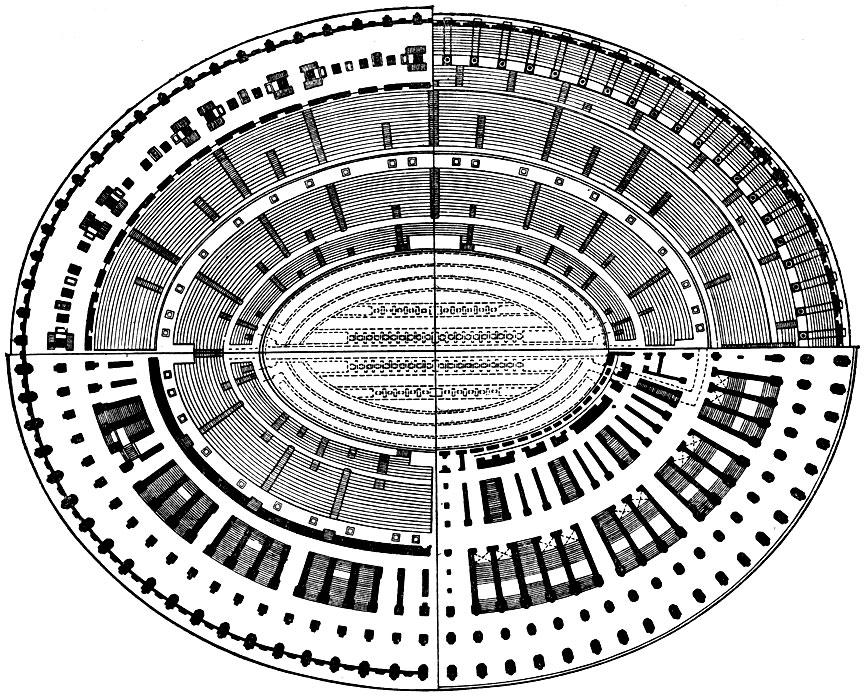 План Колизея.