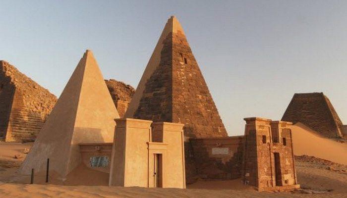 Малоизвестные «Суданские пирамиды».